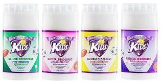 Junior Varsity Naturals Kids Deodorant Merk Deodorant untuk Anak