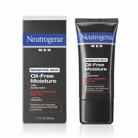 Neutrogena Men Sensitive Skin Oil Free Moisture