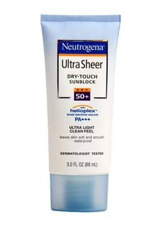 Neutrogena Ultra Sheer Dry Touch Sunblock SPF 50+ PA+++