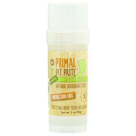 Primal Pit Paste Happy Pits Natural Deodorant for Sensitive Skin