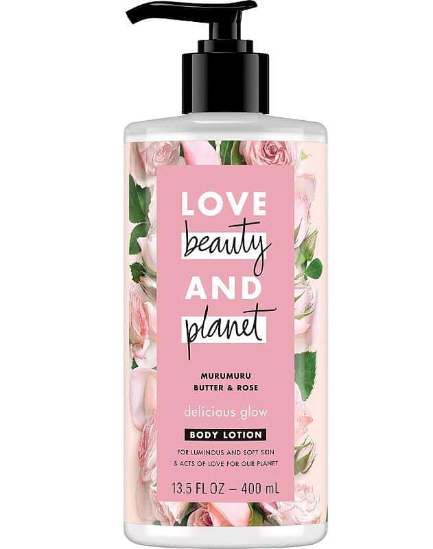 merk body lotion untuk kulit kering_Love Beauty and Planet Murumuru Butter Rose Body Lotion (Copy)