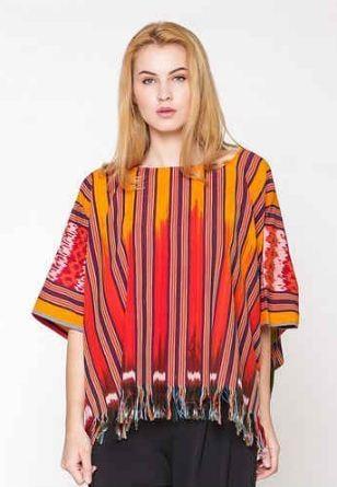 10 Model Baju Tenun Ikat Untuk Pria Dan Wanita Tahun 2019