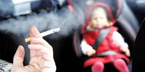 Merokok di depan anak-anak dan wanita