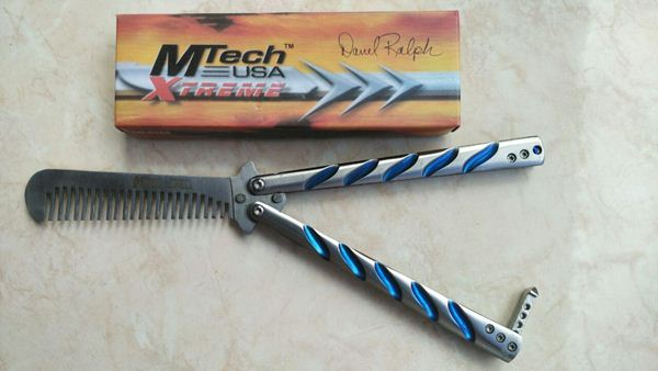 Mtech Xtreme Butterfly Comb Balisong