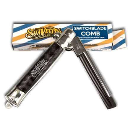 Suavecito Switchblade Folding Comb