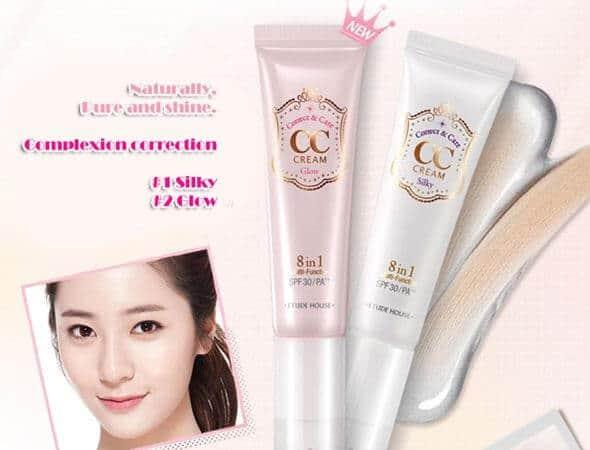 Etude House Correct & Care CC Cream