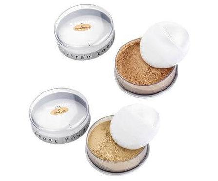 Silkygirl Shine-Free Loose Powder Merk Bedak Tabur yang Bagus
