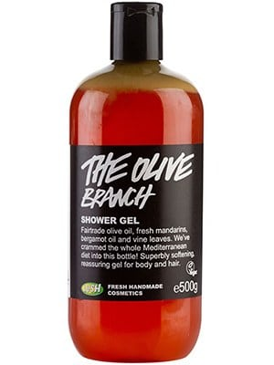Lush Cosmetics The Olive Branch Shower Gel