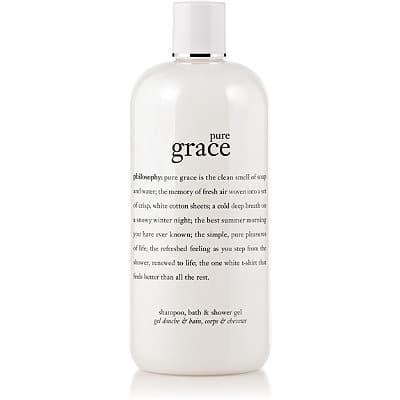 Philosophy Pure Grace Shampoo, Shower Gel & Bubble Bath