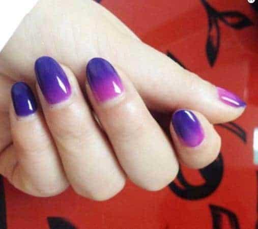 Mukka Nail Polish Changing Color