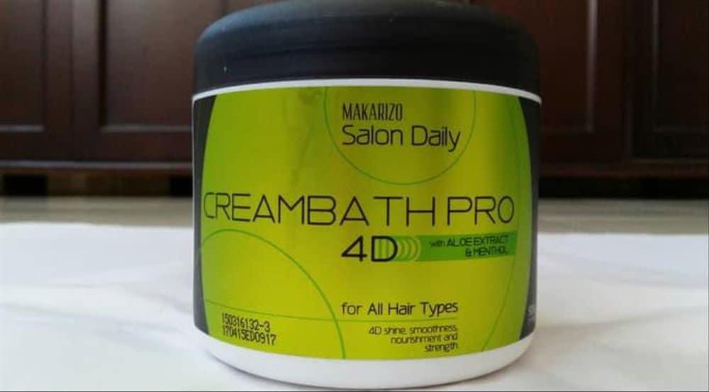 Makarizo Salon Daily Creambath Pro 4D