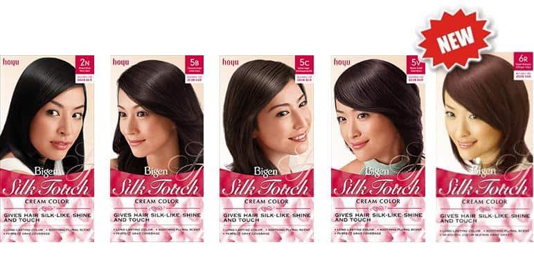 cat rambut yang halal_Bigen Silk Touch Cream Color