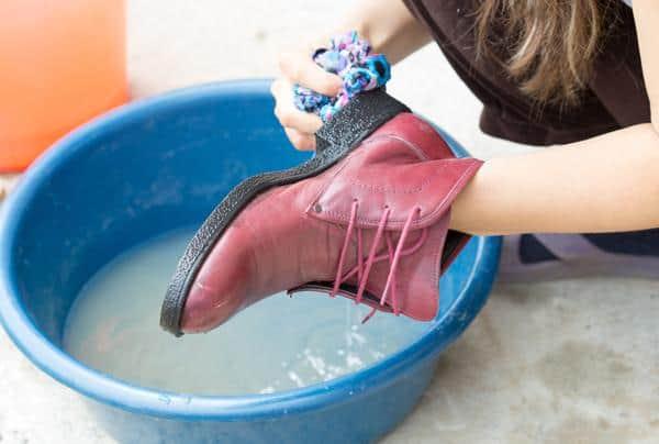 kebersihan sepatu