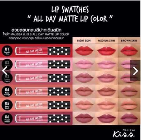 Malissa Kiss All Day Matte Lip Liquid