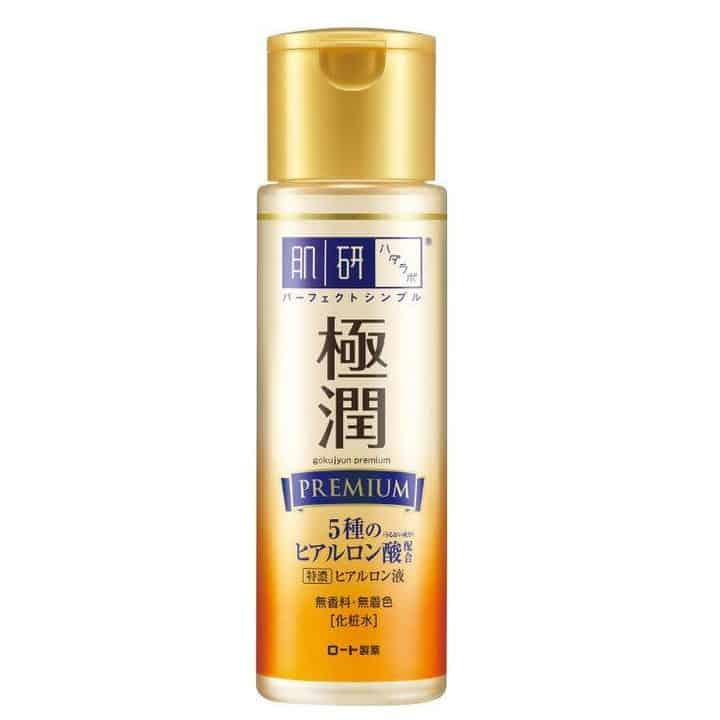 toner untuk kulit sensitif_Hada Labo Gokujyun Premium Hyaluronic Acid Lotion (Copy)