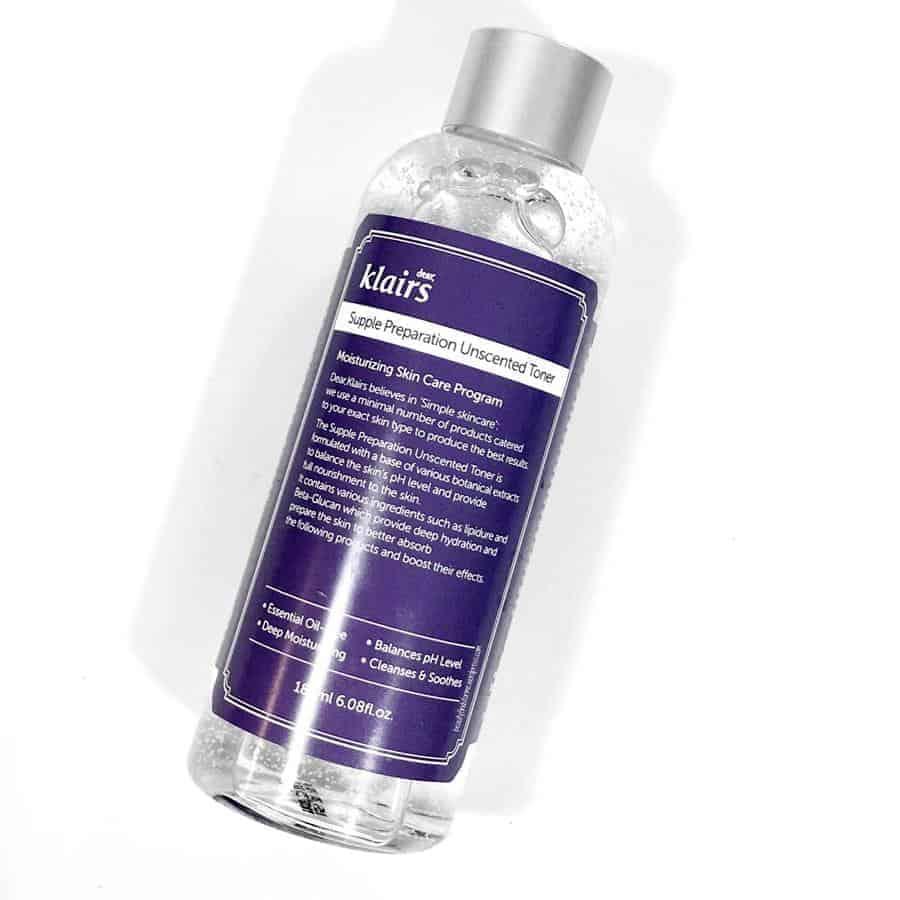 toner untuk kulit sensitif_Klairs supple Preparation Unscented Facial Toner (Copy)