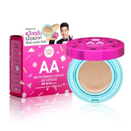Cathy Doll AA Matte Powder Cushion Oil Control SPF50 PA+++