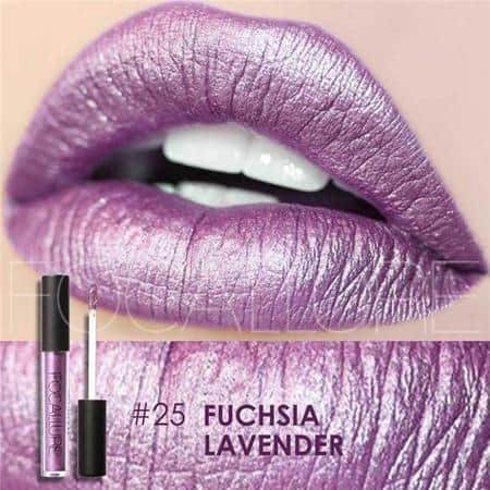 FOCALLURE Metallic Lip Gloss