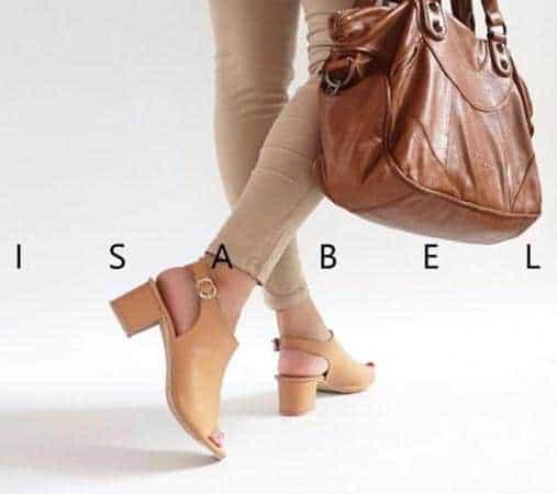 Peep-toe Sling Back model sandal high heel terbaru