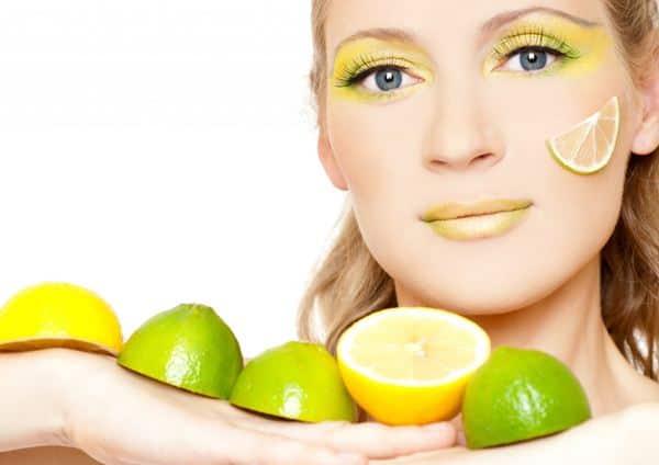 Masker wajah dengan jeruk nipis