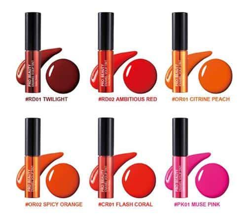 lip tint oranye Holika Holika Pro Beauty Enamel Volip Tint