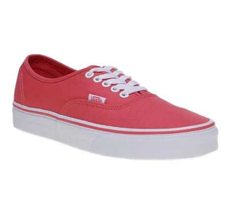 model sepatu vans wanita Vans Authentic: Deep Sea Coral/True White