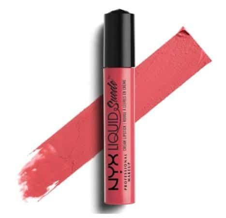 NYX Professional Makeup Liquid Suede Cream Lipstick: Life's A Beach