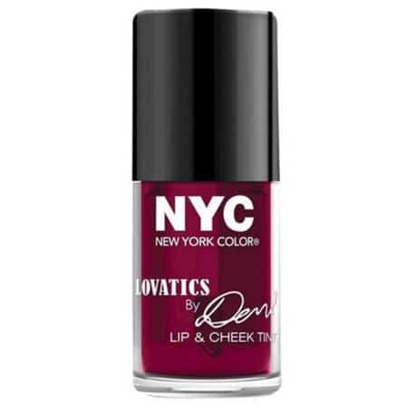 NYC Lovatics by Demi Lip & Cheek Tint: Cheeky Berry