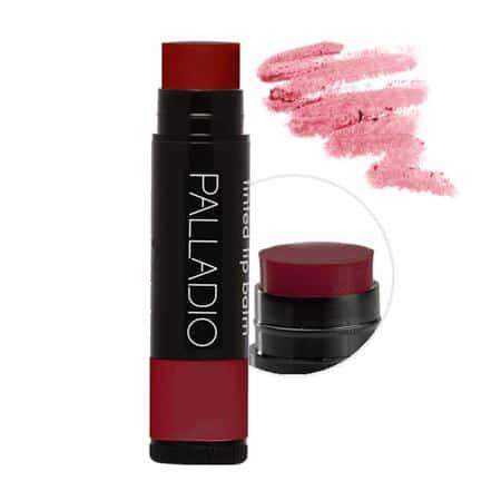 lip tint merah Palladio Herbal Tinted Lip Balm:Sangria