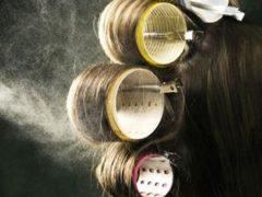 cara memakai roll rambut