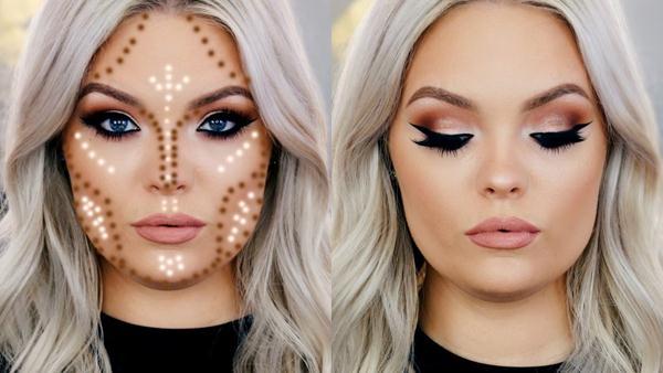 Cara Mengaplikasikan Shading wajah bulat