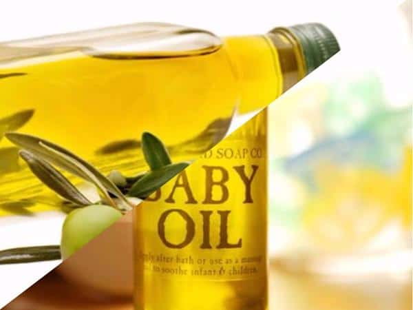 Baby Oil atau Olive Oil