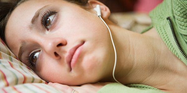 Berhenti mendengarkan lagu galau