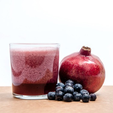 jus delima blueberry
