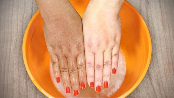 cara memutihkan kulit tangan