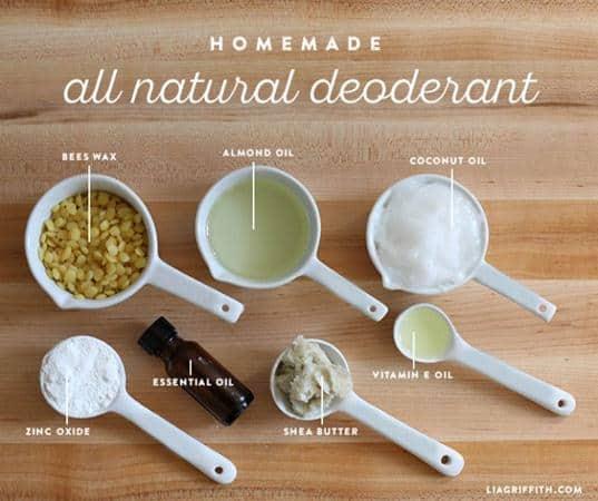 cara membuat deodoran alami