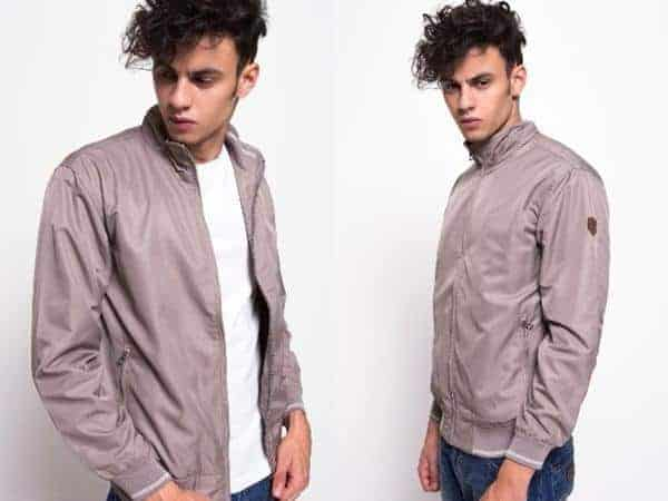 Bomber Khaki model jaket anti angin