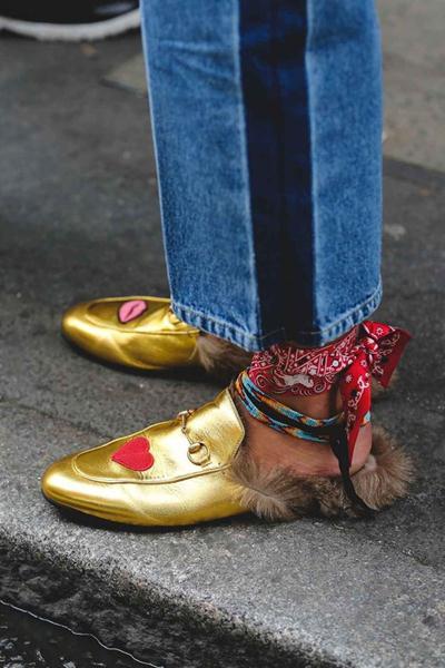 cara memakai bandana kaki