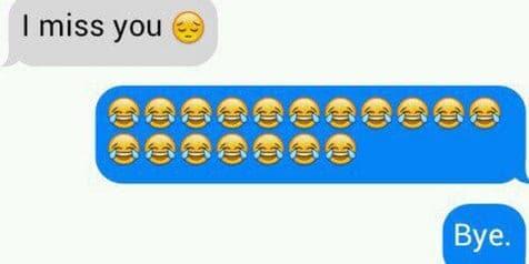 Tertawakan cara membalas chat dari mantan