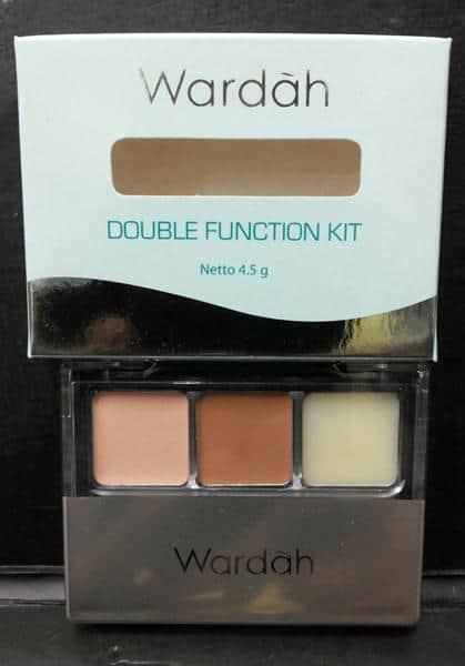 cara memakai Double Function Kit Wardah
