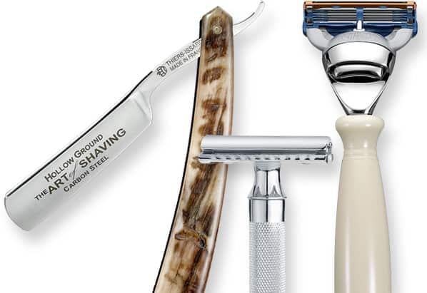 Pakai Alat Cukur yang Bersih