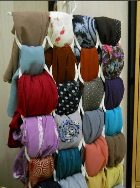 Hijab Hanger (Bulat Banyak)