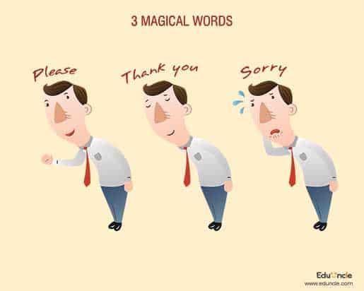 """Jangan Ragu Mengucapkan """"Maaf"""", """"Terima Kasih"""" dan """"Tolong"""""""