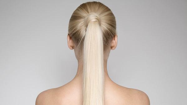 Ponytail cara menggulung rambut
