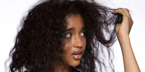 Rambut Kasar dan Mengembang