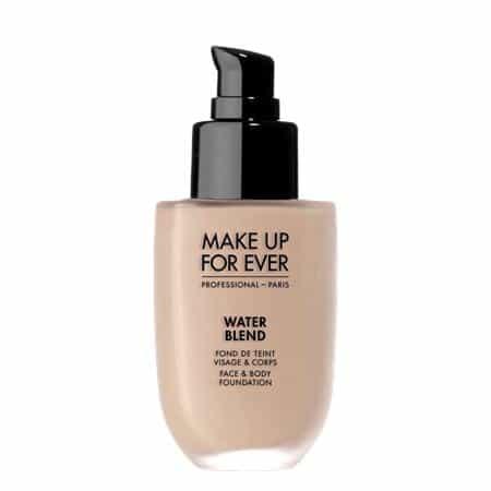 merk foundation yang cocok untuk musim hujan Make Up For Ever Water Blend Face & Body Foundation