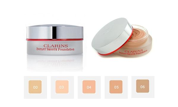 Clarins Instant Smooth Mousse Foundation