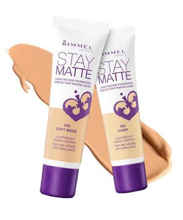 foundation mousse terbaik RimmelStay Matte Liquid Mousse Foundation