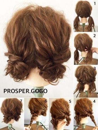10 Cara Mengikat Rambut Keriting Yang Bagus Dan Mudah