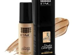 merk liquid foundation PAC Studio Coverage Liquid Foundation